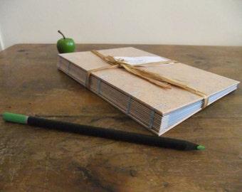 Powder pink notebook