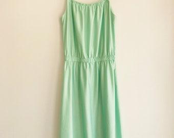 Vintage Handmade 70's Mid-Length Dress