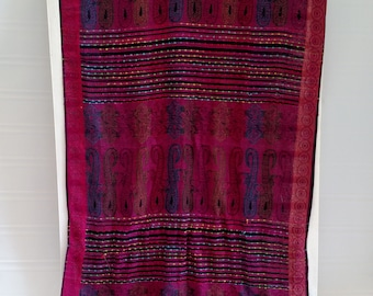 Gorgeous Scarf in Vibrant Rich Hues