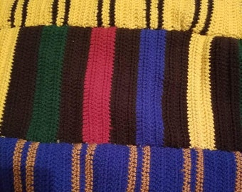 House scarf baby blanket