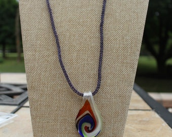 Glass Swirl Pendant