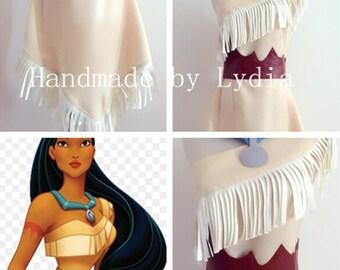 Handmade - Pocahontas Costume, Pocahontas Dress, Pocahontas Cosplay, Pocahontas Costume Adult/kid Available