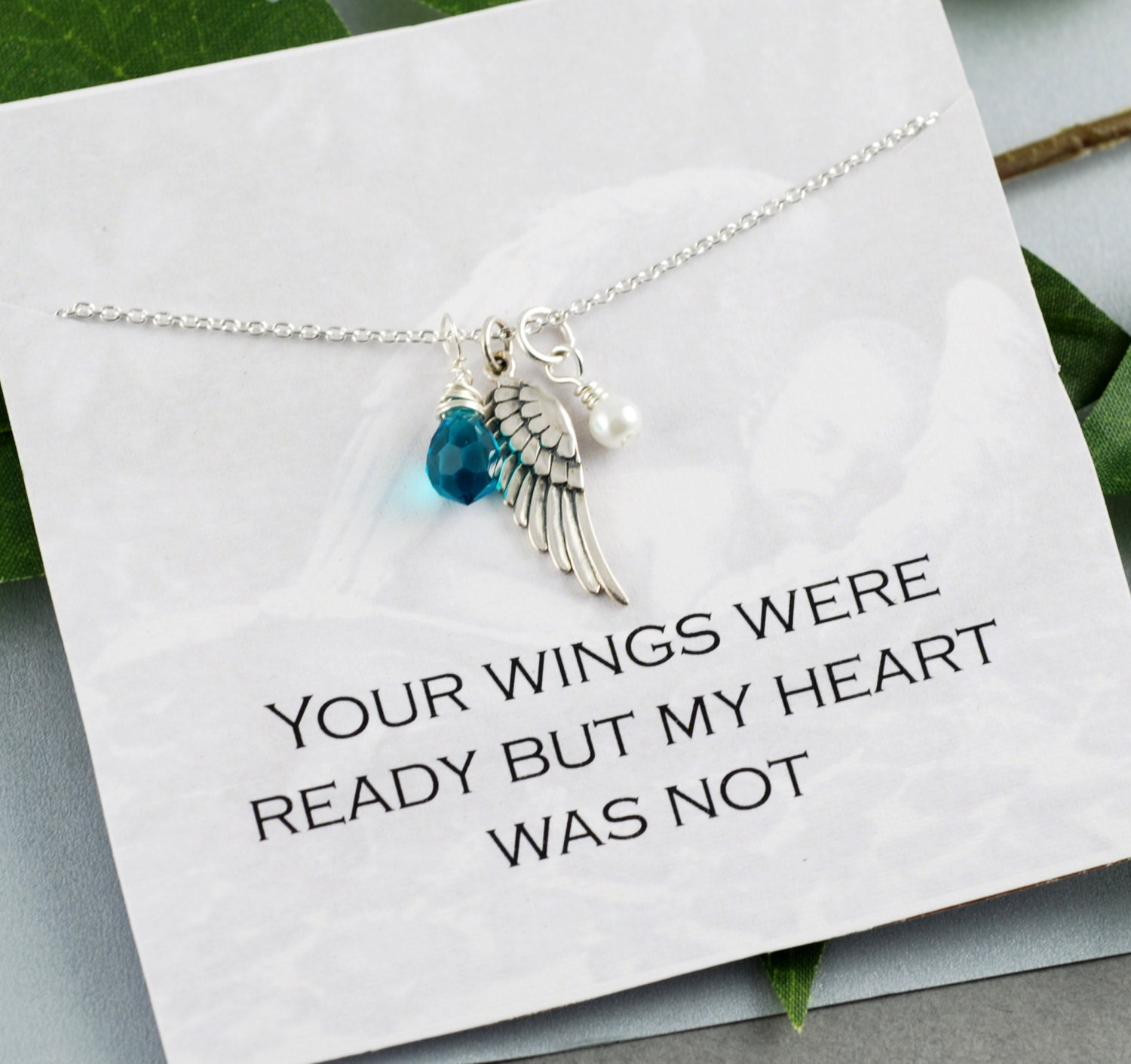 angel gift of birthstone miscarry mom miscarriage necklace il listing jewelry reserved fullxfull stillborn an childloss