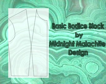 Basic Bodice Block Sloper