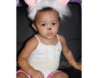 Bunny ears, baby costume, photography prop, cosplay bunny ears