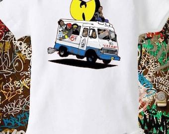 Wu Tang Ice Cream Truck Onesie