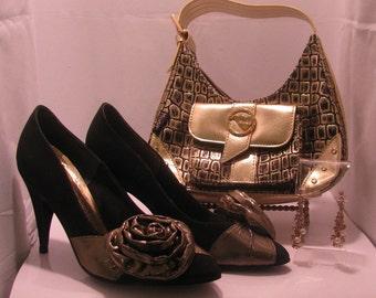 Three piece fancy night life accessories size 6 1/5