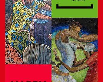 Dancing Kwanzaa Greeting Card