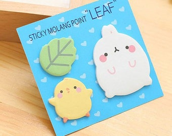 Molang Post it, Sticky notes