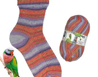 Opal Sock yarn Regenwald Rainforest XIII, 100g/465 yds, #9453