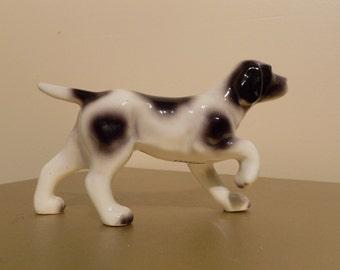 Antique Hunting Dog Figurine Vintage