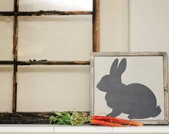 Mr. Bunny Wood Sign