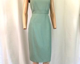 Karl Lagerfeld Sage Green Hourglass Dress sz. 8