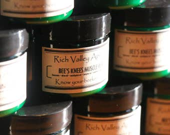 Rich Valley Apiary's - Bees Knees Muscle Rub