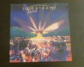 Supertramp Paris Vinyl Record LP SP-6702 Double Album  A&M Records 1980