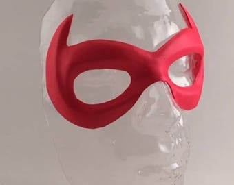 Foam Superhero Mask - Horned