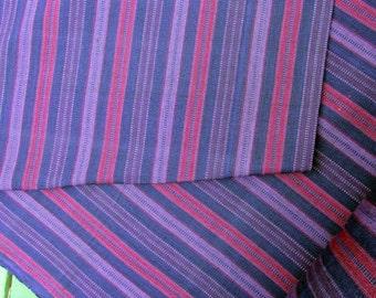 Guatemalan Fabric in Purple Petunia