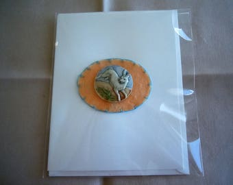 Gorgeous Rabbit Greeting Card