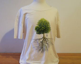 Men's T-shirt - Tree & roots