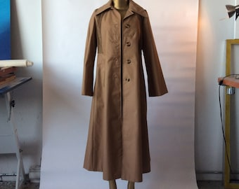 Westfield, Vintage, 1970s, Trench Coat, Made in Canada, Corduroy Details