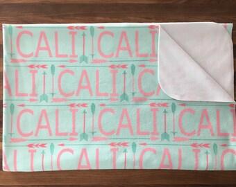 PERSONALIZED Blanket fleece - Baby Blanket - fleece blanket, baby gift, baby shower, stroller blanket, photo prop