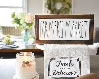 Farmers Market, Hand Poured, All Natural Soy, Mason Jar Candle, Spring Collection, Spring Scent, Farmhouse, Rustic, Home Decor