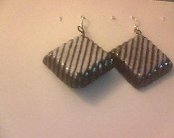 Earrings-Chocolate Bon Bons