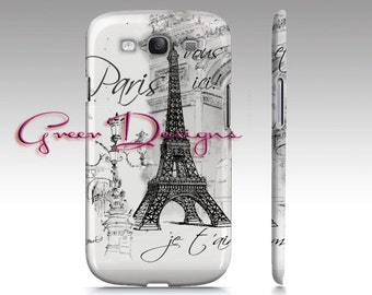 Eiffel Tower Paris Collage iPhone Case cover 4 4s 5 5s Samsung Galaxy S3 s4 S5