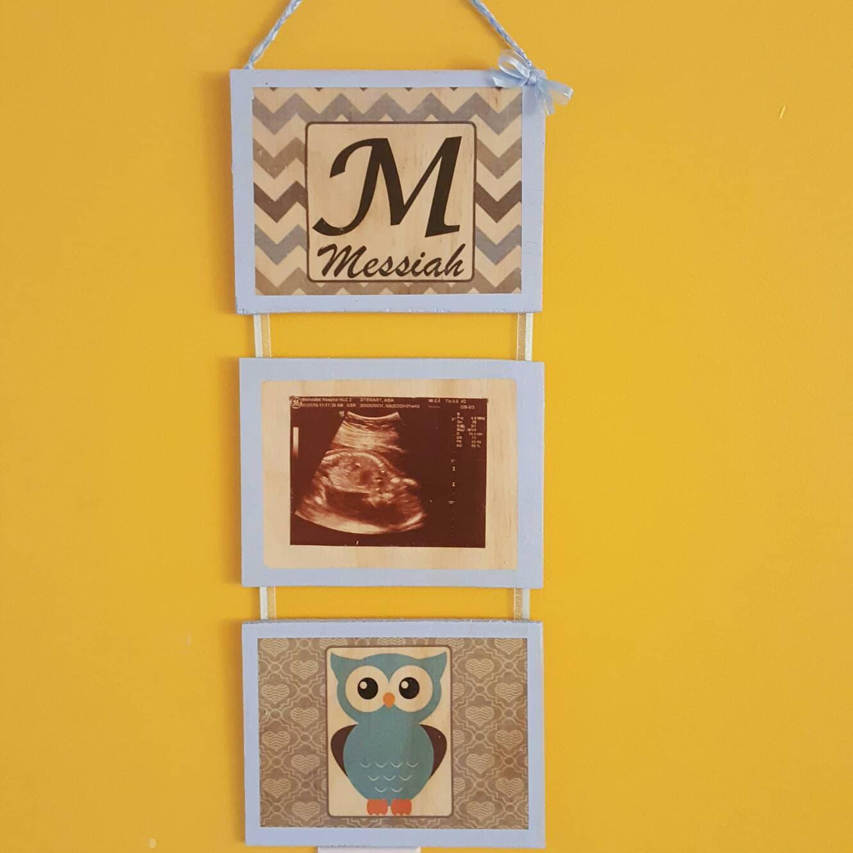 Custom Photo Wood Art Nursery Wall Art Personalized Photo