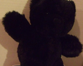 Black Stuffed Bear