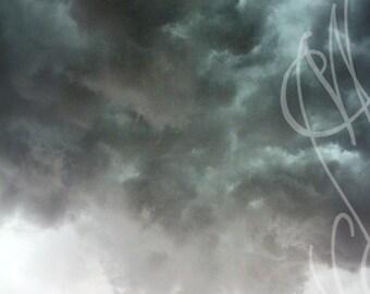 Clouds - 8x10 ( 20 x 27 cm) Fine Art Photograph