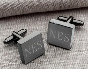 Groomsmen Gift - Cufflinks - Father of the Bride - Groom Cufflinks - Wedding Cufflinks - Wedding Party Gift - Suit Tie Accessories