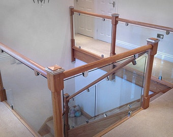 Stair Balustrade gass acrylic modern stair balustrade