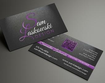 1,000 Custom, Professionally Designed Business Cards