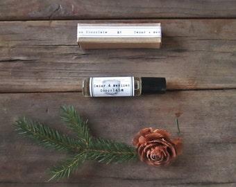Perfume Oil CEDAR & Mexican Chocolate Roll on Perfume SHIPS FREE