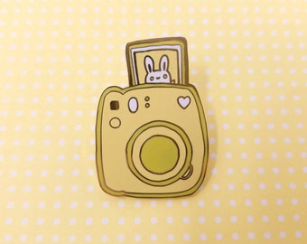 Yellow Bunny Pin-Stax