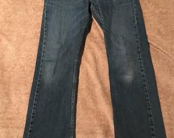 Levis 527 32x32 used vintage jeans used