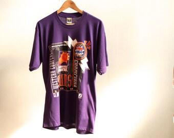 PHOENIX SUNS cotton basketball 90s NBA t-shirt