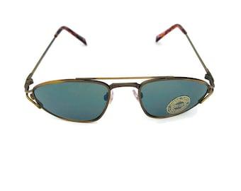 Vintage aviator sunglasses wire pilot driver racing sporty aviator sunglasses