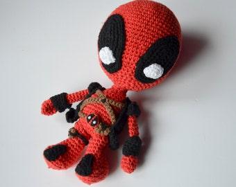 Crochet PATTERN - superhero / villain pattern by Krawka