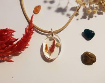 Coleus Pendant Necklace