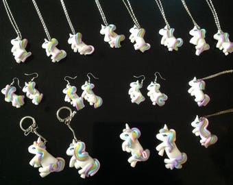 Unicorn children necklace