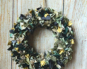 Woodland wreath ~ Rustic Country Style ~ Handmade ~ Housewarming gift ~ Home decor ~ Christmas decoration Table top display