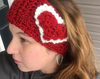 Heart Headband Ear Warmer