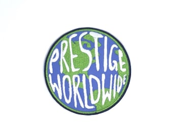 Step Brothers Prestige Worldwide Embroidered Iron On Patch Iron on Applique