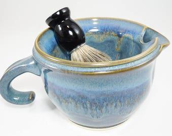 Shave Scuttle - Shaving Scuttle Bowl - Shaving Warmer - Scuttle Shaving - Scuttle Mug Warmer - Warmer Scuttle Shave - In Stock