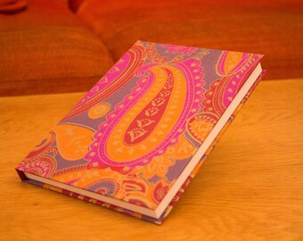 A5 Handmade & Homemade Sketchbook - Red/Warm Colours