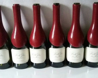 12 EMPTY wine/beverage  bottles 750 ml