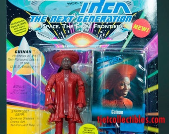 Star Trek The Next Generation Guinan Action Figure 1993 Playmates