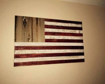 Barnboard American Flag